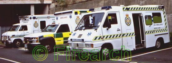 north east fire  ambulance services ambulance album